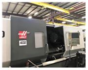 """34.5"""" Swing 44"""" Centers Haas ST-40 CNC LATHE, Haas CNC, 7"""" BORE, 55HP, Tail"""