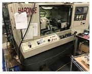 Hardinge CHNC-III CNC LATHE, Fanuc 18T, Parts Chute,