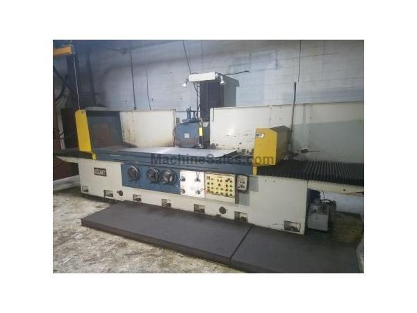 "32"" Width 80"" Length Kent KGS-820AHD, NEW 1998, AUTO IDF, 3-AXIS AUTOMATIC, SURFACE GRINDER, COLUMN TYPE, EMC, COOLANT, IP/UP"