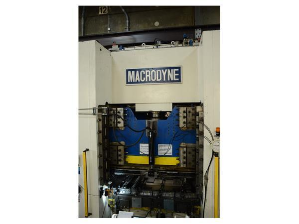 1500 Ton Macrodyne Hydraulic Punch  New 2004