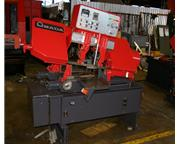 "10"" X 10"" AMADA MODEL HA250W FULLY AUTOMATIC HYDRAULIC HORIZONTAL"