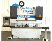 STRIPPIT LVD PPEB 90/08 HYDRAULIC CNC PRESS BRAKE