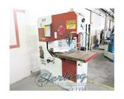 "41"" Dake Johnson # V-40 , deep throat, vertical bandsaw, 26.5"" x 26.5"" tilt"
