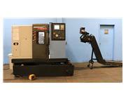 "Doosan Lynx 220A CNC LATHE, Fanuc 0iTC, 6""chk., Chip Conveyor"