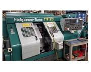 Nakamura-Tome TW-20MM CNC LATHE, Fanuc, Twin Spindle, Twin Turret