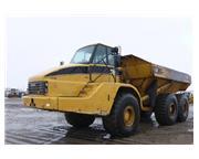 2005 CATERPILLAR 740 6 X 6  & CAB w/ A/C & HEAT - E7135