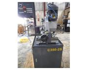 HYDMECH C350-2S HEAVY DUTY SEMI-AUTO COLD SAW, 2012, Miters 45 deg L, R