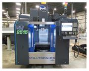 "2016 MILLTRONICS VM2515 VMC WITH MILLTRONICS CONTROL, 25"" X 15"" X 20"""