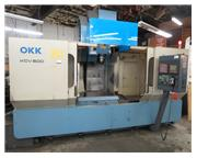 60″ x 25″ x 25″ OKK KCV-600, CAT 50, 13,000 RPM, FANUC 16, CTS, 30 ATC, FAN