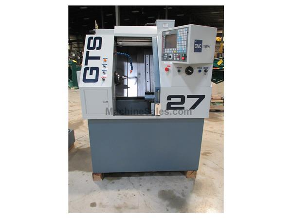 2013 CNC NEW GTS-27 CNC GANG TOOL LATHE WITH FAGOR CONTROL, 1-1/16""