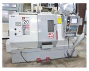 "HAAS, SL-20T, 8"" Chk, 23"" SWING, LIVE TOOLING, NEW: 2004"