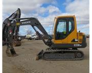 Volvo EC55B PRO Mini Excavator Dozer A/C Cab Aux Backhoe