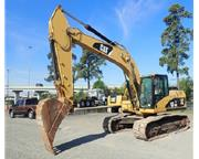 2007 CATERPILLAR 324 DL ENCLOSED CAB W/ A/C & HEAT -  E7156