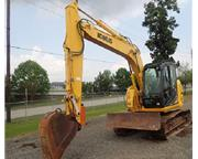 2014 KOBELCO SK140 SRLC-3 w/ Plumbing on The Stick & Cab w/ A/C E7158