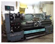 Morton Model 2162G Gap Bed Engine Lathe