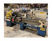 "20"" Swing 80"" Centers Lion C11T-103 ENGINE LATHE, Inch/Metric,Gap.Taper,3-Jaw,(2"
