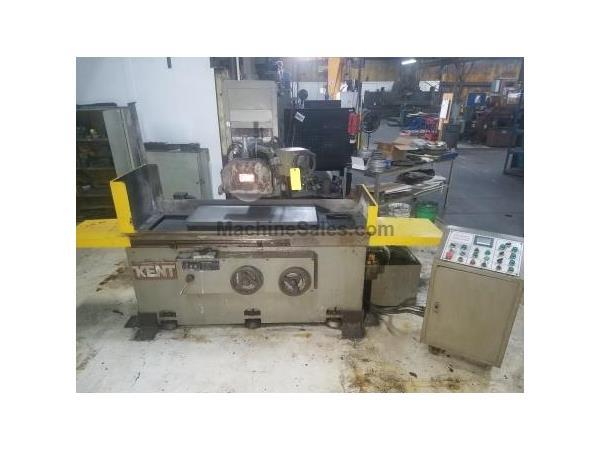 "16"" Width 40"" Length Kent KGS-410AHD, NEW 1986, AUTO IDF, 3-AXIS AUTO FEEDS, SURFACE GRINDER, EMC, OTW DRESSER, COOLANT, I/P U/P"