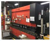 "110 TON X 122"" AMADA HFE 1003S/7 CNC PRESS BRAKE MFG: 2001 - INSTALLED"