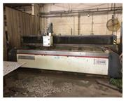 6' X 12' MITSUBISHI MWX4 CNC WATERJET MFG:2012 - INSTALLED:2013