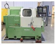 OKUMA CADET LNC-8 BIG BORE UNIVERSAL TURNING CENTER MFG:1992