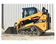 Used 2014 CATERPILLAR 257D SKID STEER W/ AUX HYDRAULICS - E7030 for