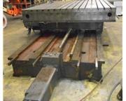 """98"""" x 118"""" Scharmann CNC Infeeding Rotary Table"""