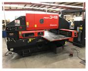AMADA, PEGA 345 QUEEN, MECHANICAL, 33Ton, FANUC 04PC CNTRL, NEW: 2000
