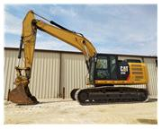 2014 CATERPILLAR 329EL W/ ENCLOSED CAB W/ A/C & HEAT - E7077