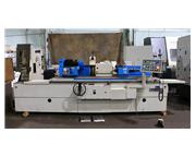 """12.6"""" Swing 59"""" Centers Tos BUB 32A/1500 OD GRINDER, TEACH 51 ELECTRONIC INFEED"""