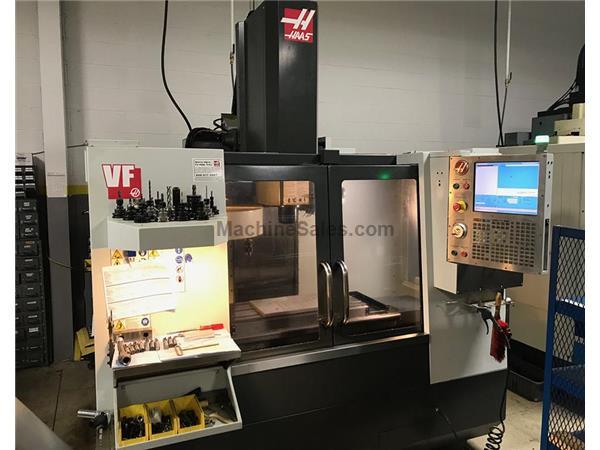 "30"" X Axis 16"" Y Axis Haas VF-2B VERTICAL MACHINING CENTER, Haas Control, Geared"