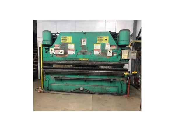 "165 Ton, Pacific # J165-12 , CNC hyd press brake, 12' OA, 10'6"" SH, 10"" str, 30"