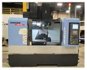 "2012  DOOSAN DNM-500 VERTICAL MACHINING CENTER,FANUC OiMD, 40"" x 21&qu"