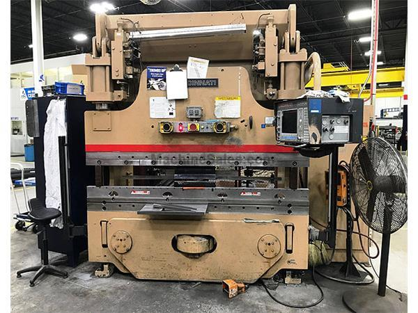 3085, Cincinnati, 135AF, CNC 135 Ton Autoform Press Brake, 1991