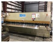 "1/4"" x 13' US INDUSTRIAL Hydraulic CNC Power Squaring Shear, 2015"