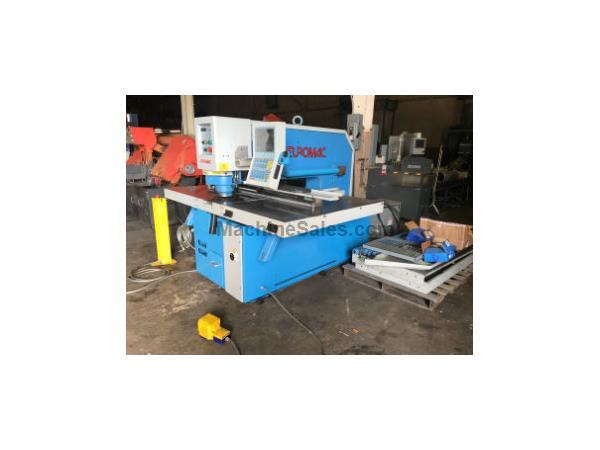 EUROMAC HYDRAULIC CNC PUNCHING MACHINE, Model CX 1000/30-1250, 33 tons, 40""