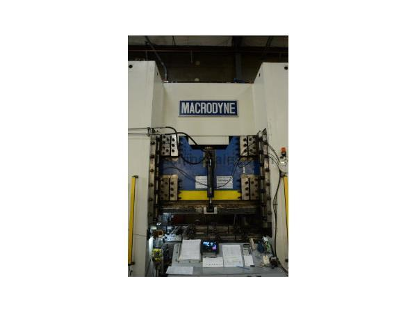 "MACRODYNE 1,500 TON HYD 4 COLUMN PRESS, 2004, 144""x54"" Bed, 16&am"