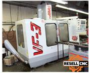 Haas VF-3 CNC Vertical Mill with MPCA Pallet Changer - 1999