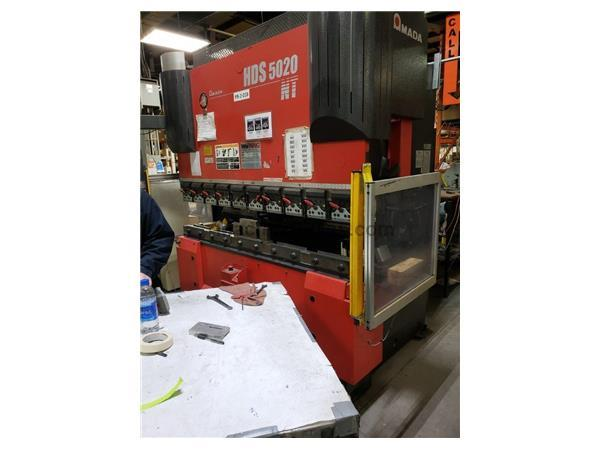 2011 Amada HDS5020NT, 6' x 55 Ton, CNC Press Brake