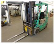 Mitsubishi ZSFGC Forklift, 5,000 LB Capacity
