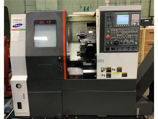 2016 Samsung SL-15/300 CNC Turning Center