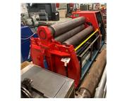 "DAVI MCB3145 1-1/2"" x 10' Hydraulic 4 Roll Plate Bending Roll"