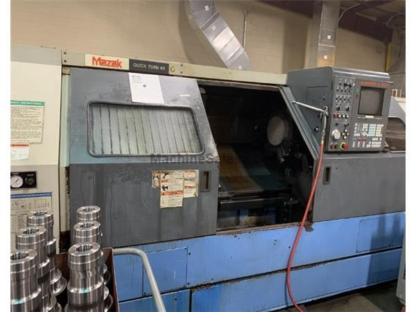 Mazak Quickturn 40 CNC Lathe