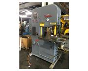 """DoAll Vertical Contour Saw, 2614-1, 1979, Power feed table, 26"""" throat"""
