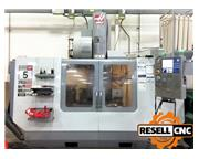 2007 Haas VF-5SS CNC Vertical Mill with Haas TR160 (SN: 1056293)