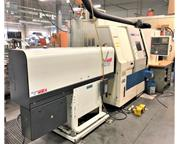 "DAEWOO PUMA 2000SY, 2002, 10"" CHUCK, LIVE MILLING, Y-AXIS, SUB SPINDLE"
