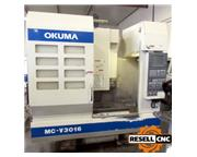 2001 Okuma MC-V3016 CNC Vertical Machining Center (SN: 0026)