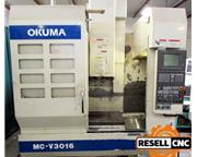 2001 Okuma MC-V3016 CNC Vertical Machining Center (SN: 0045)