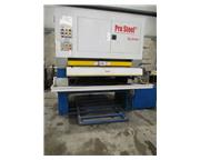 2005 JONSEN PRO-STEEL MODEL SG1300-WJS WET TYPE WIDE BELT SANDER, 50""