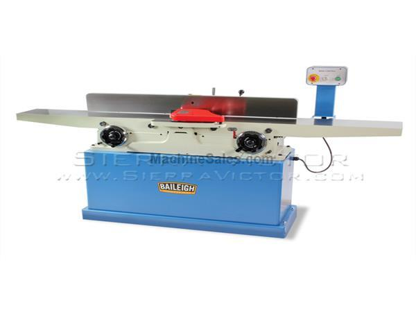 BAILEIGH Long Bed Parallelogram Jointer with Spiral Cutter Head IJ-883P-HH