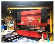 143 TON AMADA MODEL HFE 130-3S 8-AXIS CNC HYDRAULIC PRESS BRAKE
